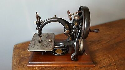 Antique WILLCOX & GIBBS SEWING MACHINE A437997~ Clean Condition! 1889
