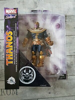 Marvel Select Thanos (Disney Store Exclusive) Diamond Select Neu OVP rar Figur