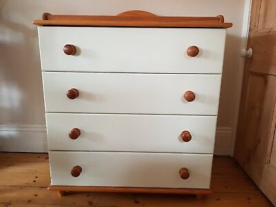 Baby Changing Table/Chest Of Drawers