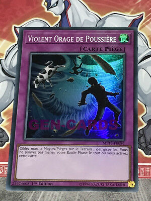 Carte YU GI OH VIOLENT ORAGE DE POUSSIERE (MP18-FR086)