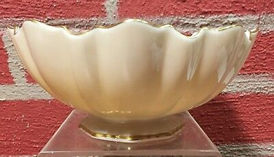 Vintage Lenox Symphony Bon Bon Dish Bowl Hand Decorated w/ 24K Gold - VGC