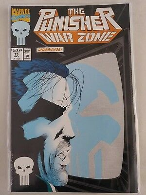 The Punisher War Zone Issues 15 Jun & 16 Jul, Marvel Comics -used