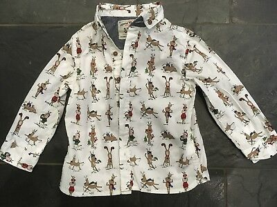 Next boys Christmas reindeer shirt 18-24 months