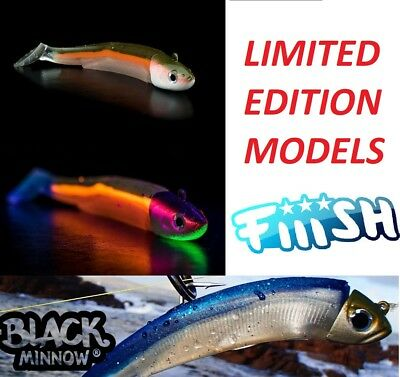 Fiiish_''black Minnow''_Limited_Edition_Silicon_Lures_Spinning_Jigging