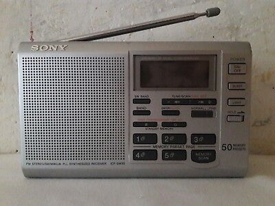 Sony ICF-SW35 - SW-FM-LW-AM, World Band Radio Digital Tuning Receiver Short Wave