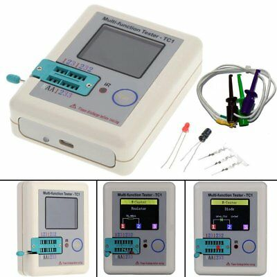 LCR-TC1 TFT Screen Display Multi-functional TFT Backlight Transistor Tester OW