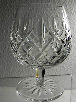 "Waterford Crystal Balloon Brandy Glass Snifter(s) ARAGLIN Pattern 5-1/8"" Signed"