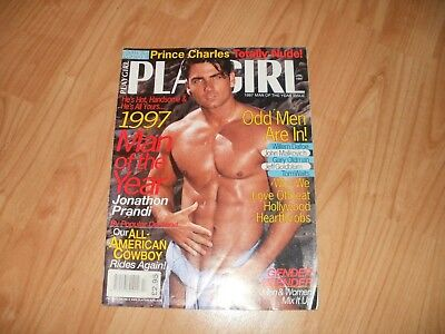 Gay magazine vintage Playgirl January1997