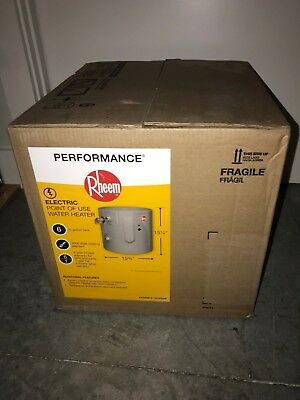 Rheem Ax5268B-3 6 Gallon Water Heater New