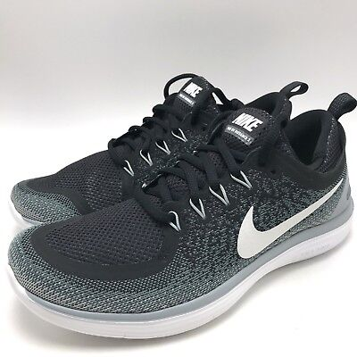 7711d9f11c262 Nike Free RN Distance 2 Women s Running Shoes Black White-Cool Grey 863776-