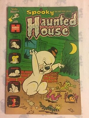 Spooky the tuff little ghost Haunted House Comic April 1974 No. 10