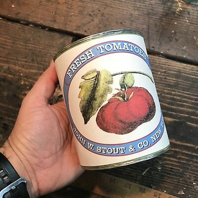 Civil War Soldered Tomatoes Tin Can Repro Union Confederate CSA Sutler Haversack