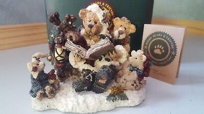 Boyds Bears Limited Edition #2323 Greenville . . . The Storyteller Christmas