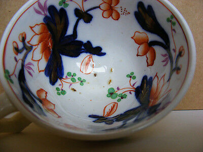 Gaudy Welsh Swansea Cottage - Child's Teacup and Saucer - Pattern 785 - c1820