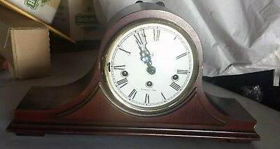 Howard Miller Mantle Clock  Model 630-116 With Key And Working 100%