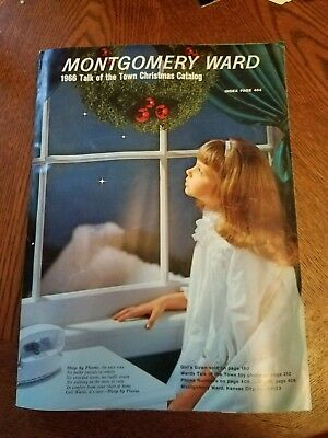 Montgomery Ward CATALOG - Christmas, 1966 ~~ Wards