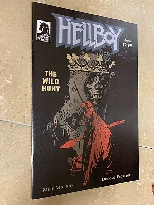 Hellboy The Wild Hunt #2 1st Appearance of Nimue Blood Queen NM