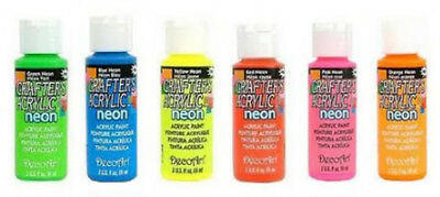 DecoArt Crafters Acrylic Craft Paint - Various Colours - 2oz / 59ml