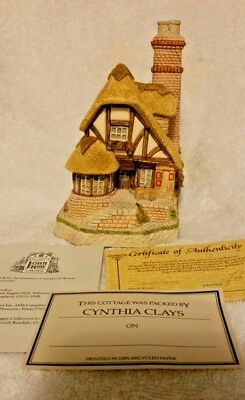 David Winter Cottages 1991 Audrey's Tea Room Signed