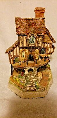 Mad Baron Fourthrite's Folly David Winter Cottages Hand painted #13791
