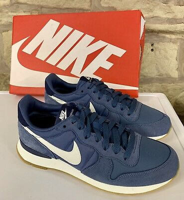 online store e8406 82f19 Nike Womens Internationalist Trainers Diffused Blue Uk 5.5 New Shoes Ladies