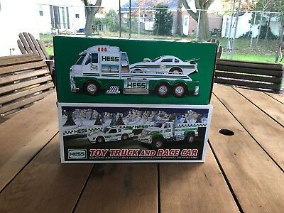 2016 Hess Toy Truck and Dragster - & 1011 Hess Toy Truck And Racer Nib