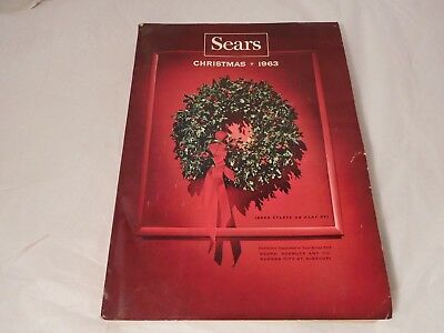 Sears 1963 Christmas Catalog 571 pages Vintage 1960s Toys and Fashions
