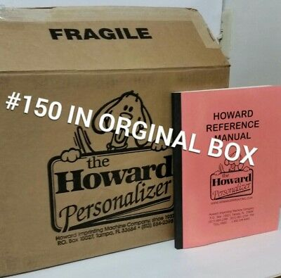 Howard Personalizer Artistic Image Stamp Machine Crafts Stamps Graphic Arts