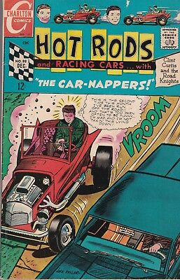 Hot Rods and Racing Cars #88 December 1967 Charlton. GD/VG  FREE SHIPPING
