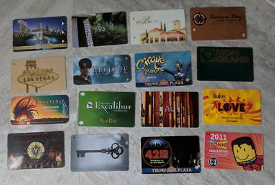 Large Lot of 80 Casino Hotel Room Card Keys