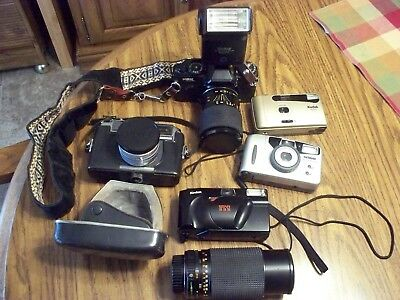 Vintage  Camera 35 MM Lot with lens