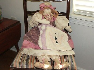 """Collectible Vintage Doll called """"Bag Babies"""" So Sweet and ready for a new home!"""
