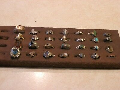 Total lot 28 Rings - 24 are Sterling Silver .925