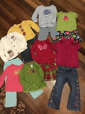 Girl's Size 4 Gymboree Fall Lot,EUC, VGUC