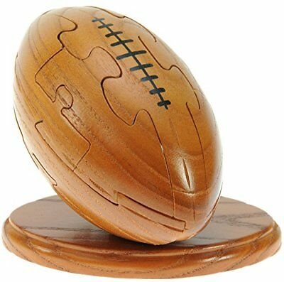 Rugby Ball 3d Jigsaw Puzzles For Grown Ups And Children : Novelty Gifts For Men