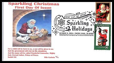 2018 Sparkling Coca-Cola Christmas Combo -  First Day- Wile Cachet 12 Made