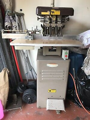 Challenge Eh-3A 3/4 Hp 3 Spindle Paper Drill 208/230 Volts 1Ph 18 A