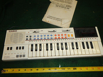 VINTAGE CASIO PT-80 MUSICAL Electronic KEYBOARD ROM PACK World Songs RO-551 VTG