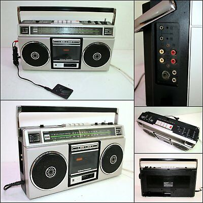 1980's National Panasonic RX-5020A Radio Cassette Boombox