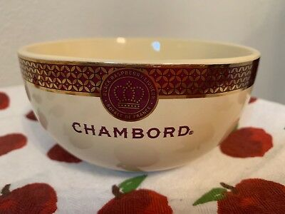 Chambord Ice Cream Bowl, Black Raspberry Liqueur, Royale De France