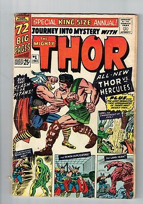 Journey into Mystery (1952 series) Annual #1 FIRST APPEARANCE OF HERCULES