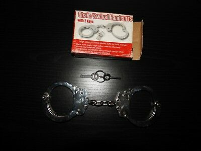 Chain/Swivel Handcuffs