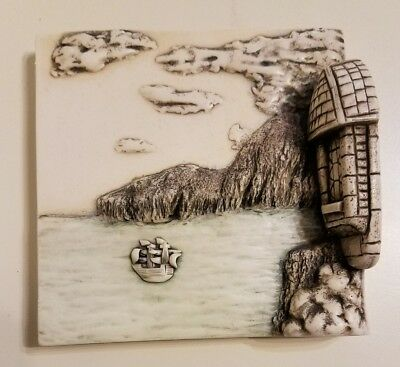 Harmony Kingdom Picturesque Wimberley Tales The Sea Magnetic Tile Pxwb3