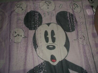 Askdolly Vintage SCARF AUTHENTIC DISNEY tm MICKEY MOUSE CLASSIC RARE COLLECTORS