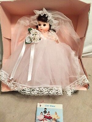 Vtg Madame Alexander Alexander-Kins Miniature Showcase Bride Brown #435 Orig Box