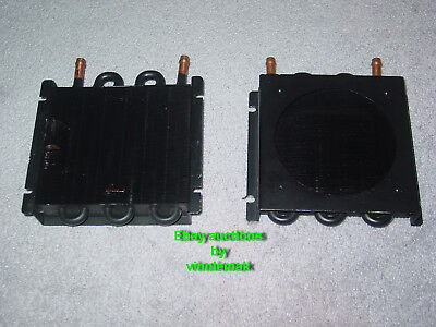 *great Deal* Pair Of Lytron Copper Core High Eff Heat Exchanger 6105G1Bd Two 2