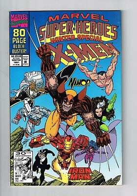 Marvel Super Heroes #8 Winter Special Near Mint 1991 Ditko 1St Squirrel Girl