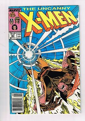 Uncanny X-Men #221 FIRST APPEARANCE OF MR SINISTER  RARE NEWSSTAND