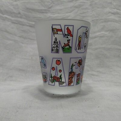 North Carolina Shot Glass Great for your State Collection of Shotglasses