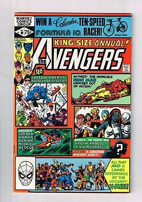 Avengers Annual #10 (1981 Marvel) FIRST APPEARANCE OF ROGUE HIGHER GRADE
